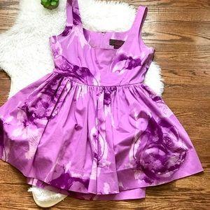Jack by BB Dakota purple floral party dress